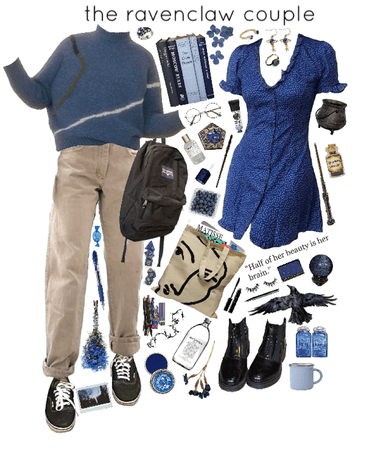 the ravenclaw couple