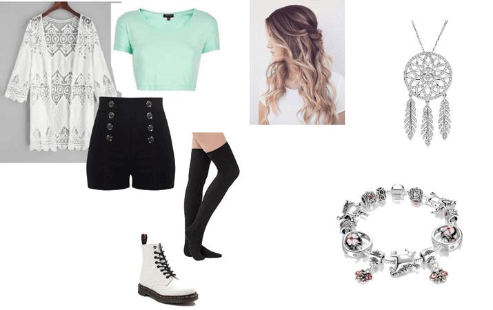 Caroline Matthew's Outfit #1 (Take On the World)