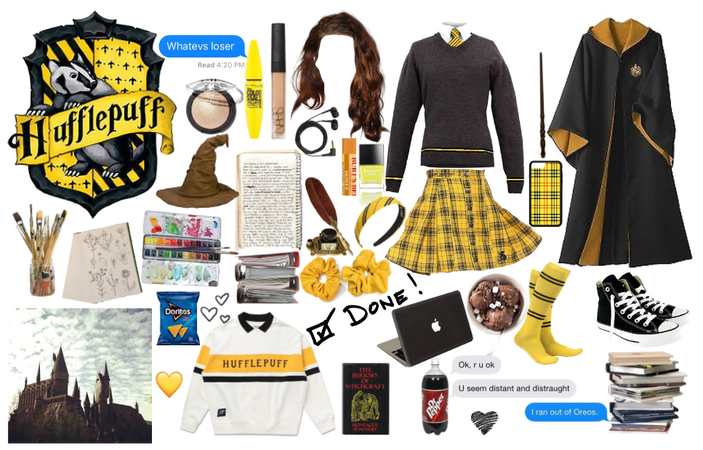 Harry Potter: Hufflepuff Girl