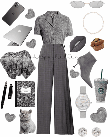 Grey Classy Outfit
