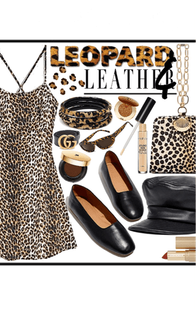 Leopard & Leather Style