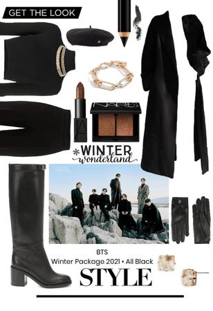 BTS Winter Package 2021 • All Black