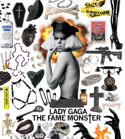 lady gaga the fame monster aesthetic
