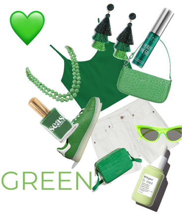 Green, the color of life