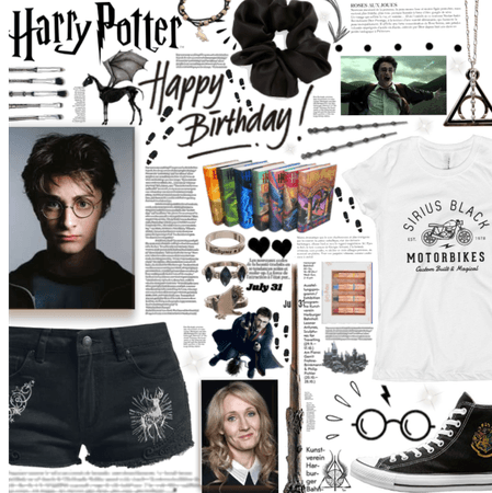 Harry Potter And J.K Rowlings Birthday