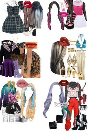 Halloween: Monster High girls