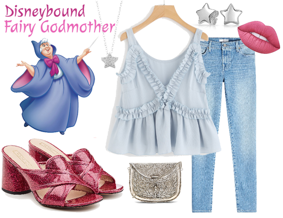 Disneybound Fairy Godmother