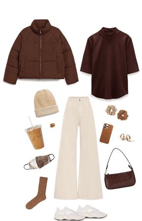 autumn coffee date