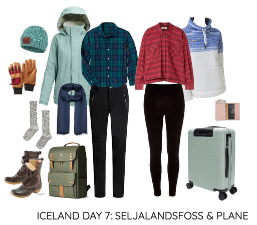 ICELAND DAY 7: SELJALANDSFOSS & PLANE