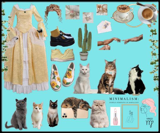 my goals- cottage core-cat mom