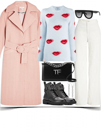 A delightful pullover look