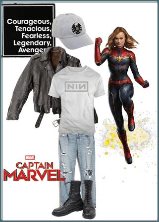 Carol Danvers costume