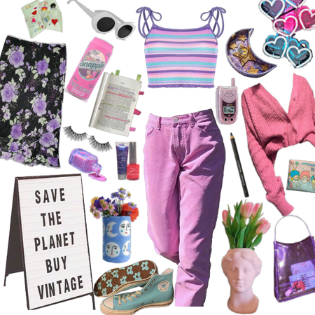 save the planet - buy vintage!!