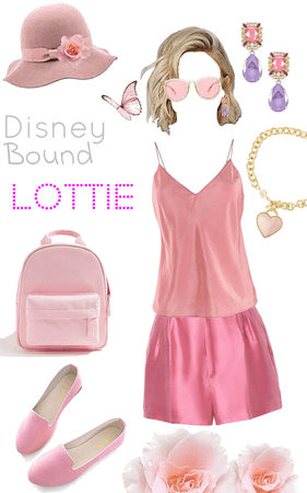 Disney bound Lottie