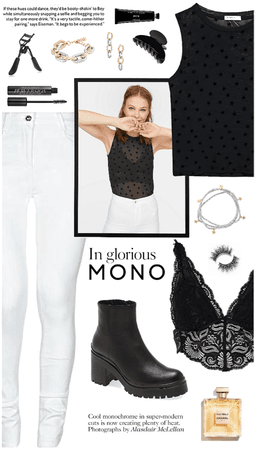 outfit 34 // black and white