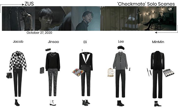 Zus// 'Checkmate' MV Solo Scenes