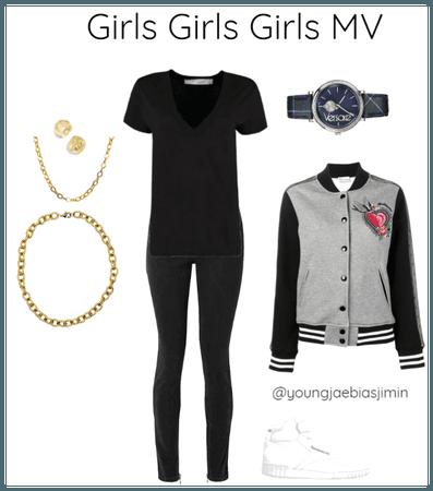 Girls Girls Girls MV