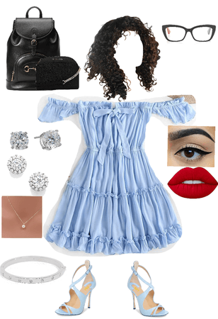 Light blue dress (Ouran!)