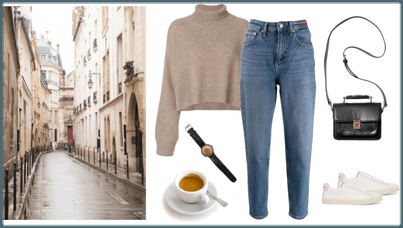 Fall Paris walk