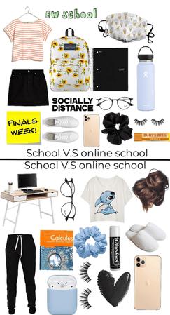 online school V.S school