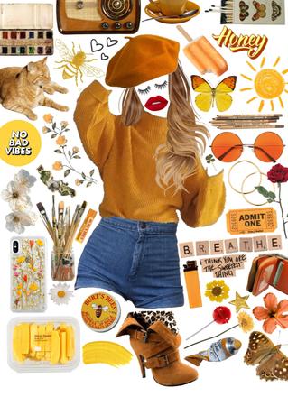 yellow art student