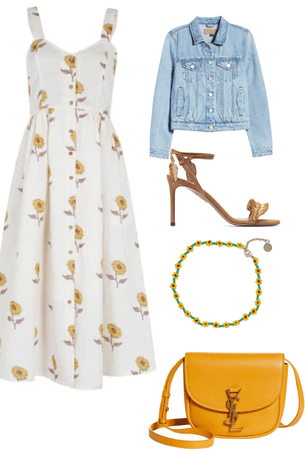 Sunflowers  Outfit