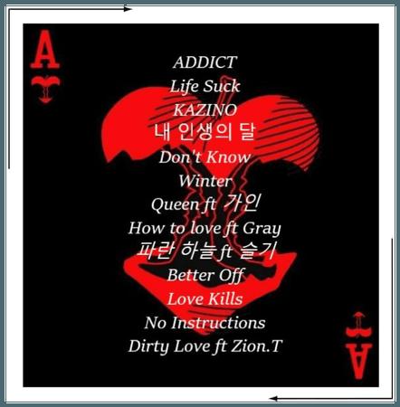 Broken Heart KAZINO Tracklist