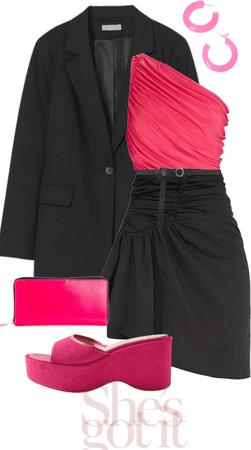 Modern Pink Lady