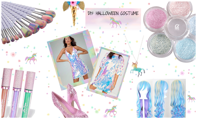 DIY: HALLOWEEN COSTUME CONTEST/UNICORN