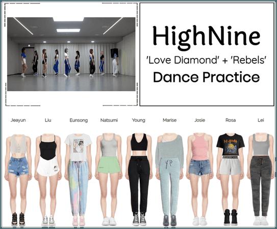 """HighNine (하이 나인) """"Love Diamond"""" Dance Practice"""