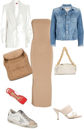 One dress several ways