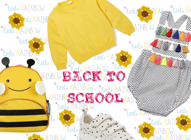 Back to school kids collection