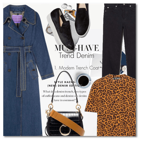 Must-have: The Denim Trench