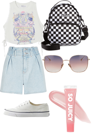 summer and spring outfit