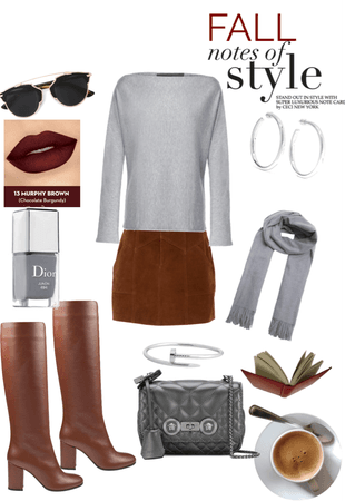 FALL in Grey and Brown