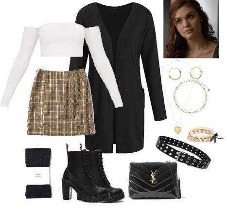 Lydia in class