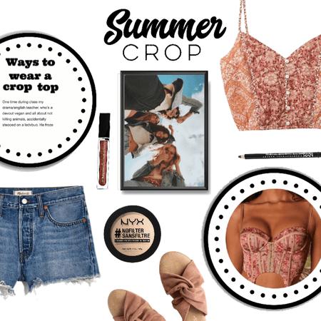 Summer Crop Top