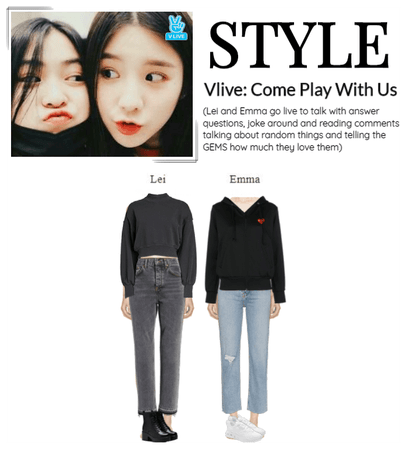 STYLE Vlive: Come Play With US