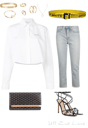 off-white casual chic