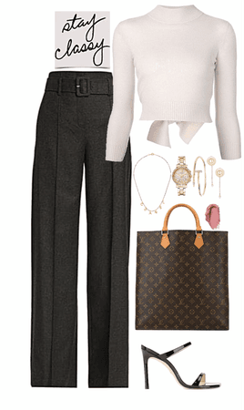 formal,classic & cute look