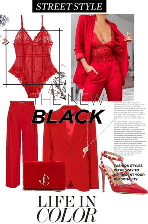 Red is new black
