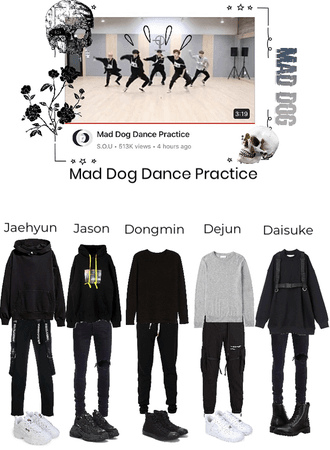 Mad Dog dance practice