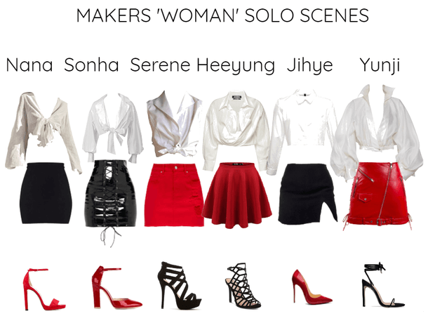 MAKERS 'WOMAN' MV SOLO SCENES