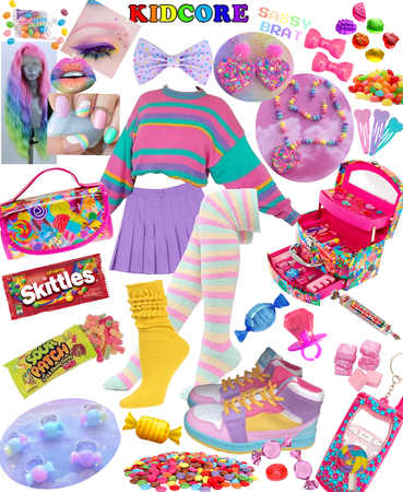 Sweet and Sour Candy Kidcore
