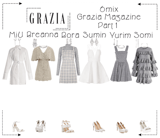 《6mix》Grazia Magazine Photoshoot (Part 1)