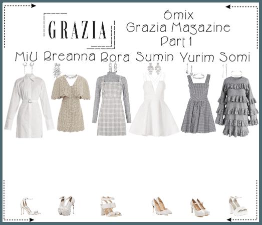 《6mix》Grazia Magazine Photoshoot (Part 1)
