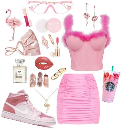 flamingo pink street
