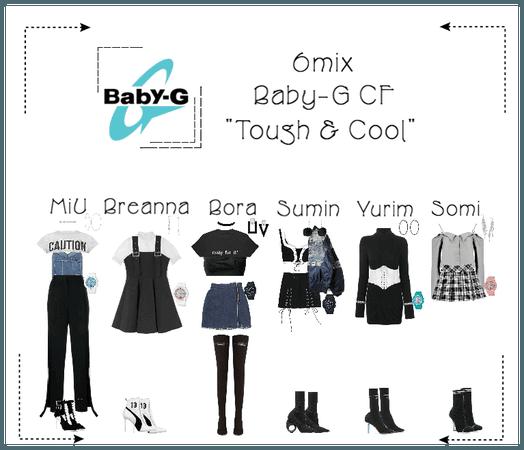 《6mix》Baby-G CF