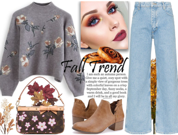 fall trends - simple with florals
