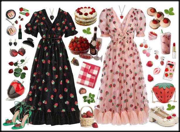 strawberry picnic 🍓